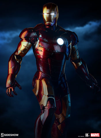 Sideshow Collectibles - Iron Man Mark III Maquette