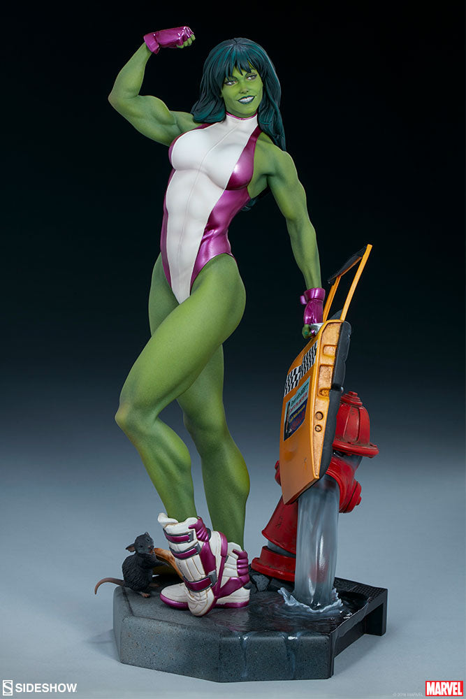Sideshow Collectibles - Adi Granov Artist Series - Marvel - She-Hulk (1/5 Scale)
