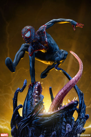 Sideshow Collectibles - Premium Format Figure - Marvel - Spider-Man Miles Morales
