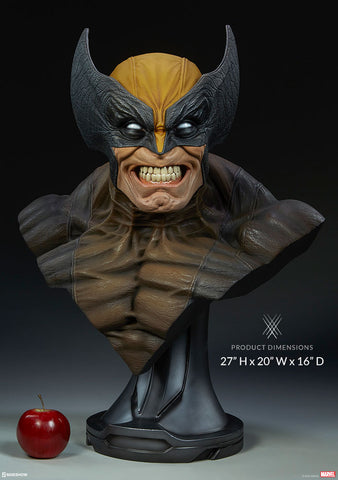 Sideshow Collectibles - Life-Size Bust - Marvel - Wolverine