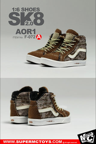 MC Toys - Sk8 Shoes 2.0 (AOR1) (1/6 Scale)