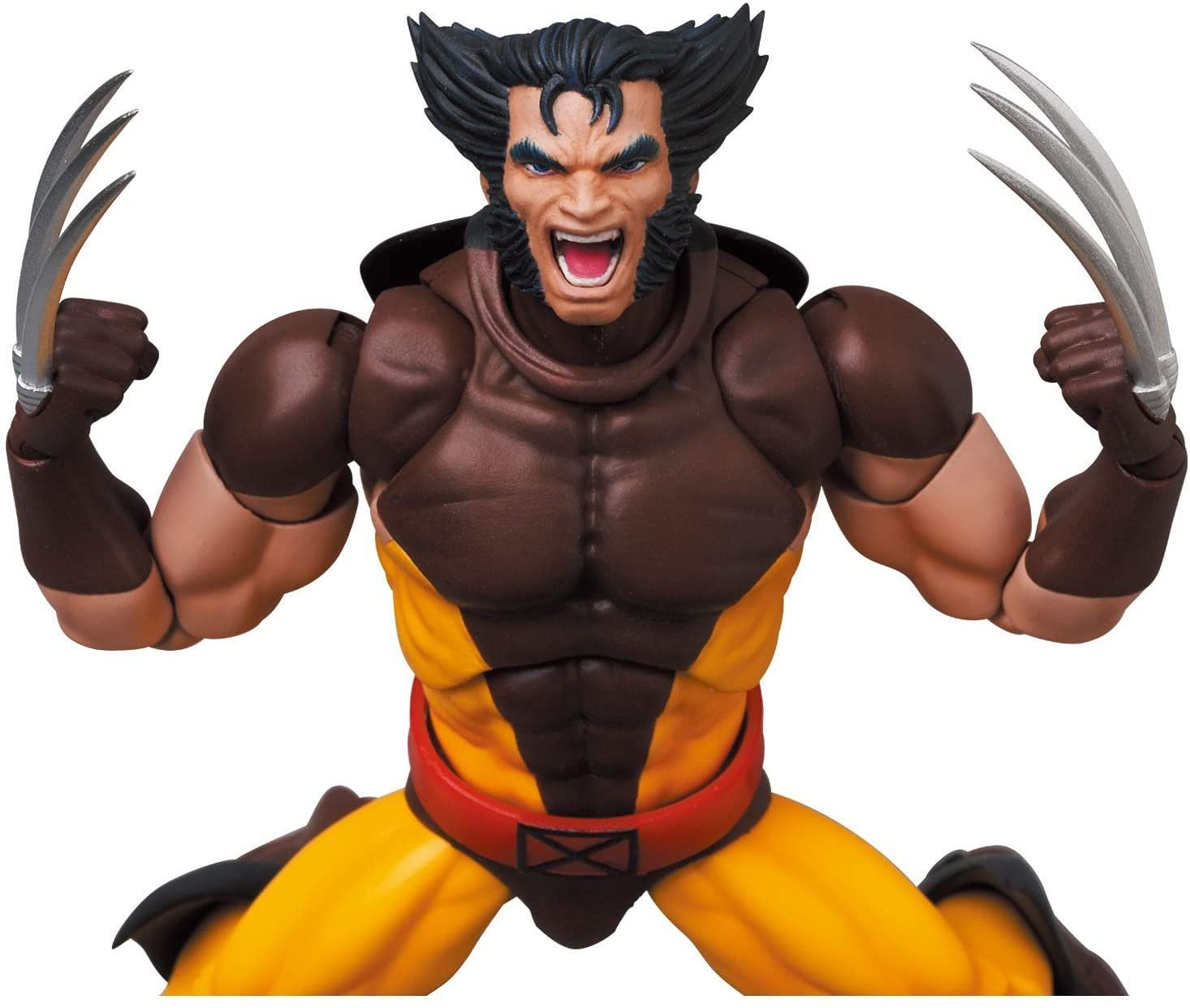 Medicom - MAFEX No. 138 - Marvel's X-Men - Wolverine (Brown Comic Ver.)