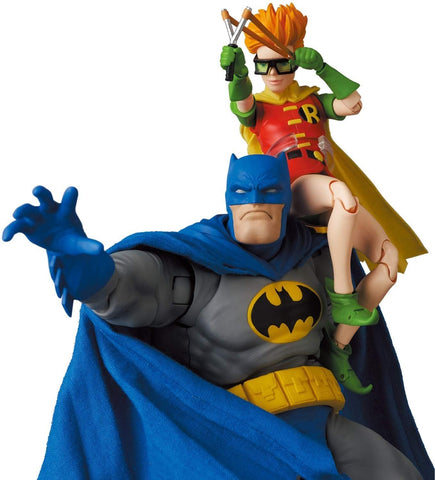 Medicom - MAFEX No. 139 - DC Comics - The Dark Knight Returns - Batman (Blue Ver.) & Robin