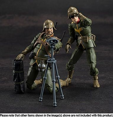 Megahouse - Gundam Military Generation - Zeon Soldier (Set of 3)
