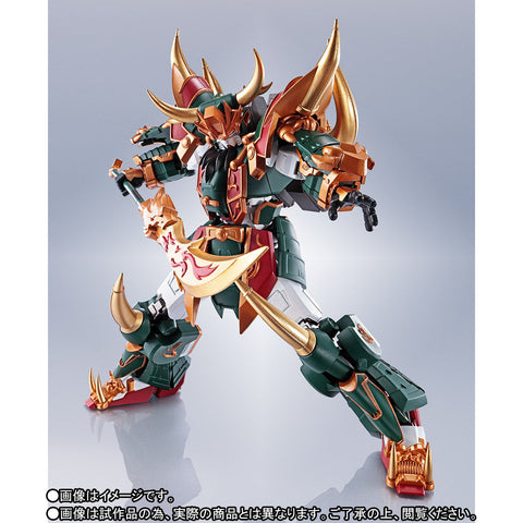 Bandai - The Robot Spirits [Side MS] - SD Sangoku Soketsuden - Guan Yu Gundam (Real Type Ver.) (TamashiiWeb Exclusive)