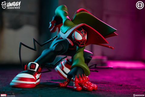 Sideshow Collectibles - Unruly Industries - Marvel - Miles Morales (Spider-Man) by Tracy Tubera