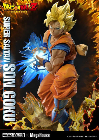 Prime 1 Studio x Megahouse - Mega Premium Masterline - Dragon Ball Z - Super Saiyan Son Goku (1/4 Scale)