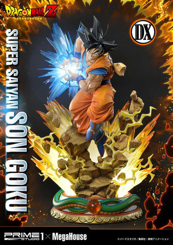 Prime 1 Studio x Megahouse - Mega Premium Masterline - Dragon Ball Z - Super Saiyan Son Goku (Deluxe Version) (1/4 Scale)