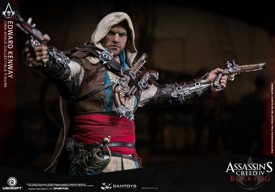 Dam Toys - DMS003 - Assassin's Creed IV: Black Flag - Edward Kenway