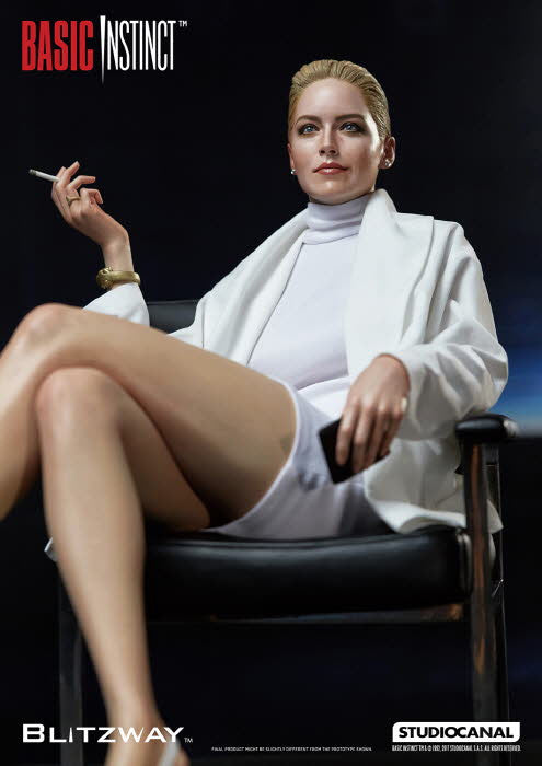 Blitzway - 1:4 Superb Scale Statue (Hybrid Type) - Basic Instinct - Catherine Tramell (Sharon Stone)