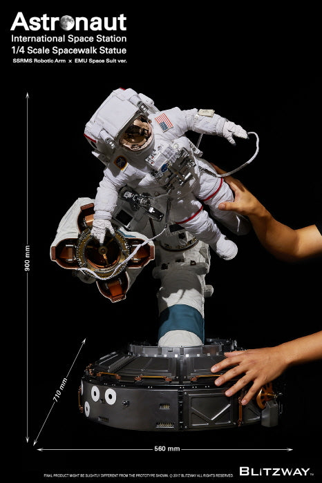 Blitzway - Super Scale Statue - The Real - Astronaut (International Space Station EMU Ver.)