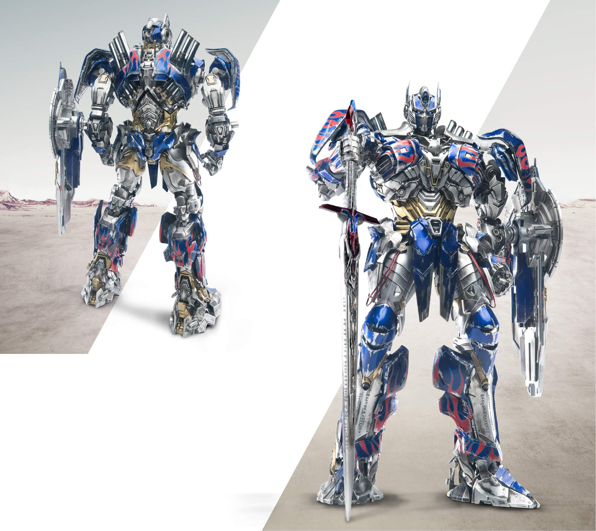 Comicave Studios - Omni Class: 1/22 Scale Optimus Prime - Marvelous Toys - 1