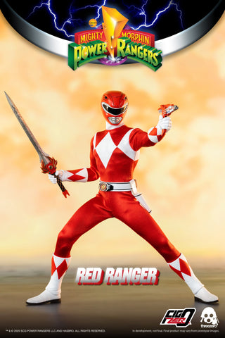 Threezero - Mighty Morphin Power Rangers - Red Ranger (1/6 Scale)