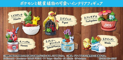 Re-Ment - Pokemon: Pocket Botanical (Set of 6)