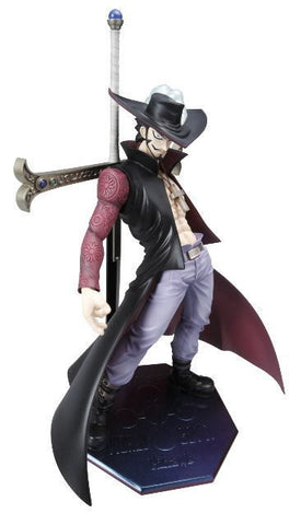 (IN STOCK) DX Dracule Mihawk - One Piece - Portrait of Pirates P.O.P - Marvelous Toys - 1