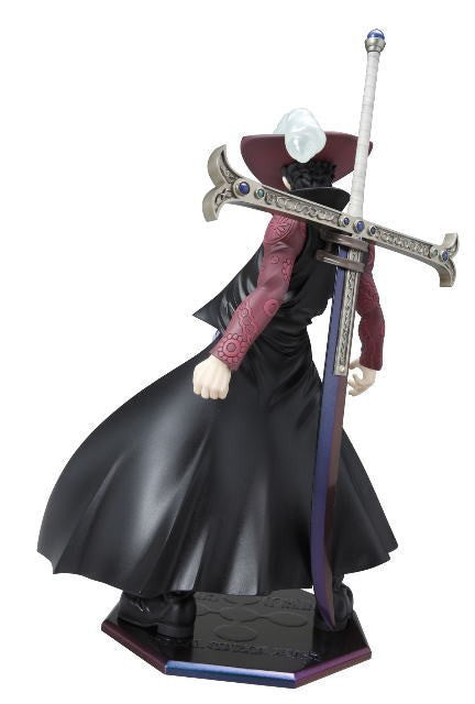 (IN STOCK) DX Dracule Mihawk - One Piece - Portrait of Pirates P.O.P - Marvelous Toys - 2