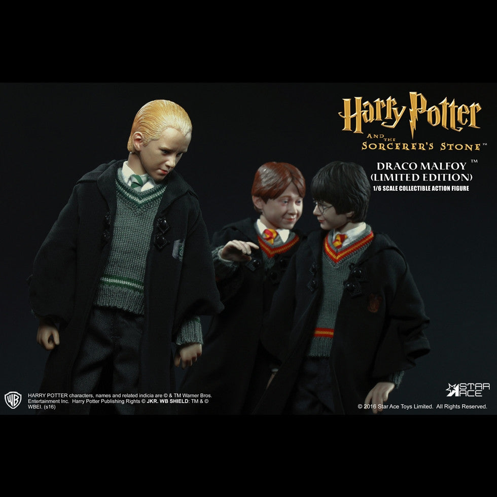 Star Ace Toys - SA0028 - Harry Potter And The Sorcerer's Stone - Draco Malfoy (Uniform) - Marvelous Toys - 9