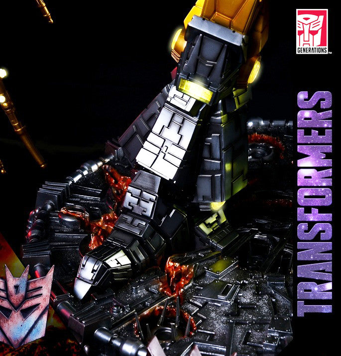 Soldier Story Tf G1 U01 Transformers Unicron And Hot Rod Table L Marvelous Toys