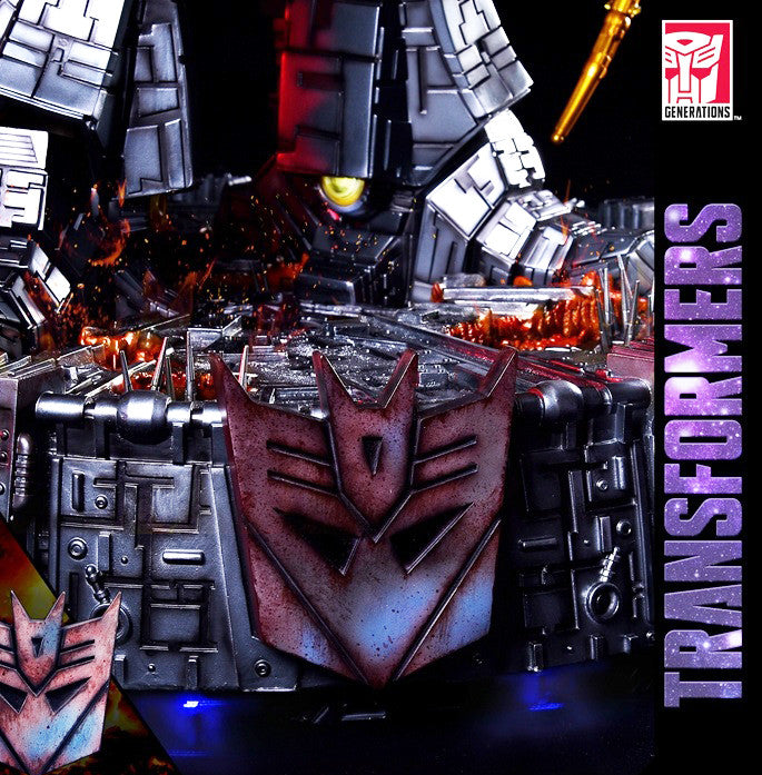 Soldier Story - TF-G1-U01 - Transformers - Unicron and Hot Rod Table Lamp