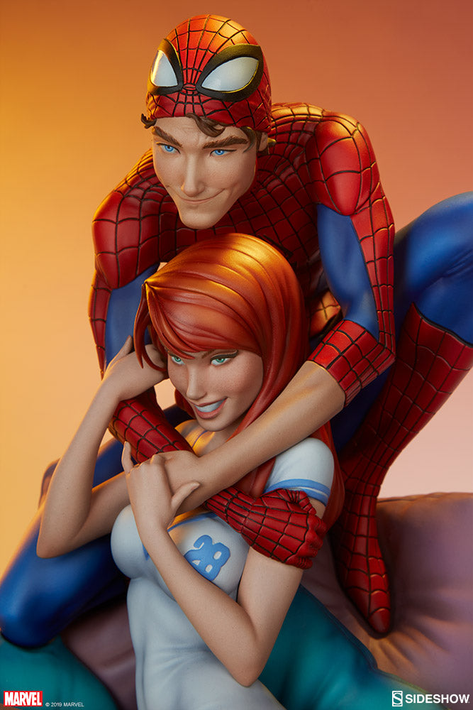 Sideshow Collectibles - Maquette - Marvel - Spider-Man and Mary Jane