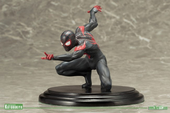 Kotobukiya - ARTFX+ - Spider-Man (Miles Morales) Marvel Now! (1/10 Scale) - Marvelous Toys - 3