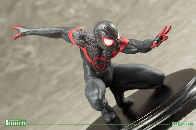 Kotobukiya - ARTFX+ - Spider-Man (Miles Morales) Marvel Now! (1/10 Scale) - Marvelous Toys - 5