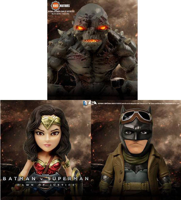 Kids Nations - DC02 - Batman v Superman: Dawn Of Justice - Set of 3 - Marvelous Toys - 1