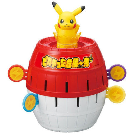 TakaraTomy - Pokemon - Pikachu Pop-up Pirate Game - Marvelous Toys - 1