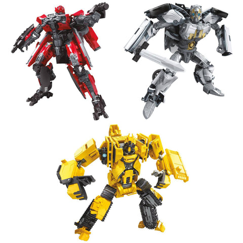 Hasbro - Transformers Generations - Studio Series - Deluxe - Cogman, Scrapmetal, Shatter (Set of 3)