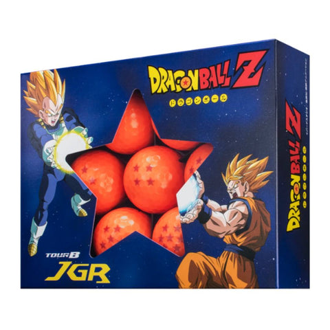 Bridgestone - Dragon Ball Z - Golf Ball Tour B JGR (Pack of 7) Limited Edition (Made In Japan)
