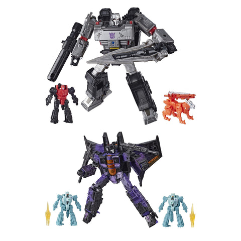 Hasbro - Transformers Generations - War for Cybertron: Trilogy - Voyager - Megatron & Hotlink (2-Pack)