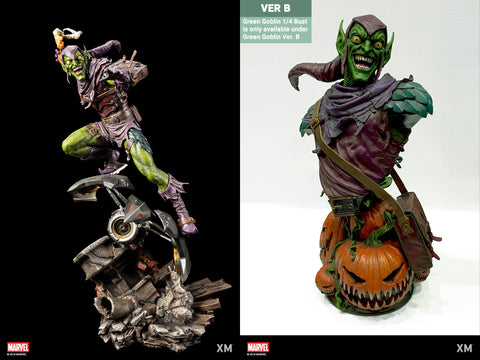 XM Studios - Marvel Premium Collectibles - Green Goblin (Ver. B) (1/4 Scale)