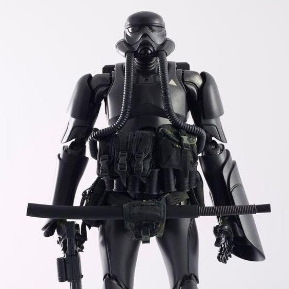 ThreeA - Tomorrow Kings - Show TK Trooper v2 - Black Sun Commando - Marvelous Toys - 3