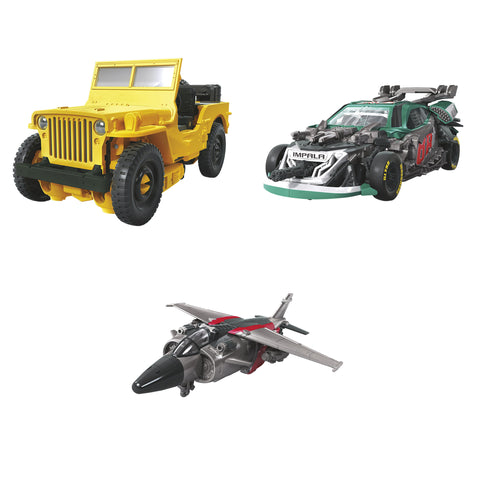 Hasbro - Transformers Generations - Studio Series - Deluxe - Offroad Bumblebee, Roadbuster, Shatter (Set of 3)
