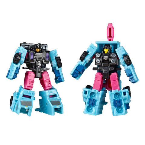 TakaraTomy - Transfomers Generations - War For Cybertron: Siege - Micromaster - Decepticon Battle Squad (Direct-Hit & Powerpunch)