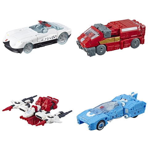 Hasbro - Transformers Generations - War For Cybertron: Siege - Deluxe Wave 2 - Ironhide, Chromia, Prowl, Six-Gun