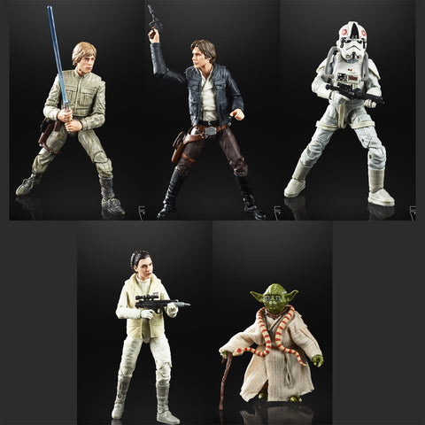 Hasbro - Star Wars: The Black Series - 40th Anniversary (Set of 5)