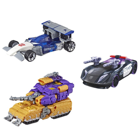 Hasbro - Transfomers Generations - War For Cybertron: Siege - Deluxe - Barricade, Impactor, Mirage (Set of 3)