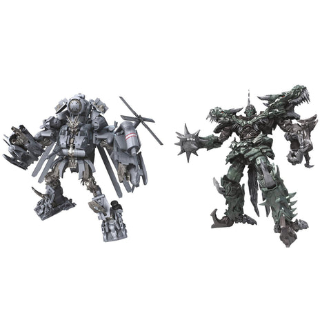 Hasbro - Transformers - Studio Series - Leader Wave 1 - Decepticon Blackout and Grimlock 2-Pack