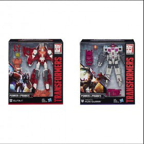 Hasbro - Transformers Generations - Power of the Primes - Voyager Wave 2 - Elita-1 and Hun-Gurrr 2-Pack