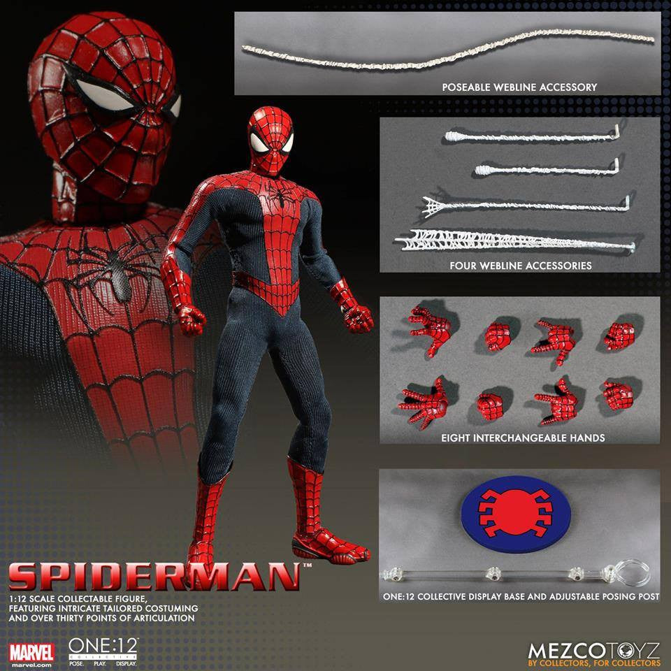 Mezco - One:12 Collective - Spider-Man - Marvelous Toys - 11