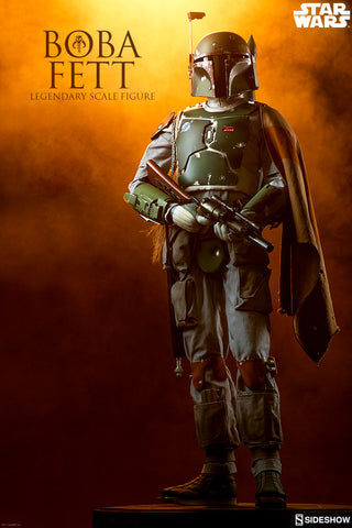 Sideshow Collectibles - Legendary Scale Figure - Star Wars - Boba Fett