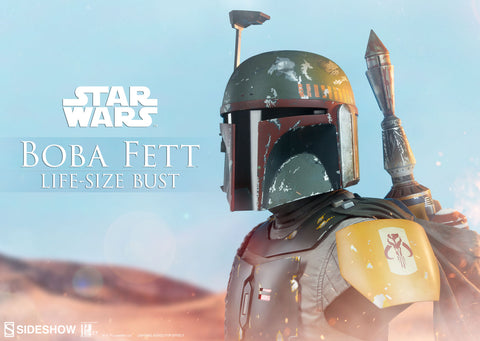 Sideshow Collectibles - Life-Size Bust - Star Wars - Boba Fett