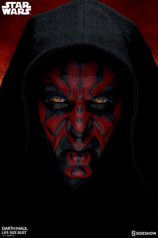 Sideshow Collectibles - Life-Size Bust - Star Wars: The Phantom Menace - Darth Maul