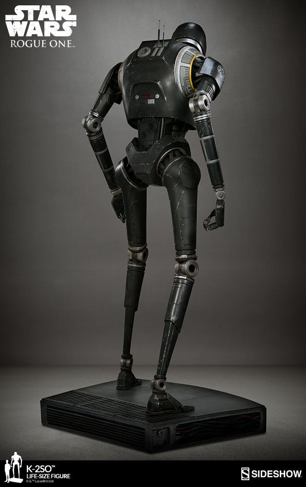 Sideshow Collectibles - Life-Size Figure - Rogue One: A Star Wars Story - K-2SO