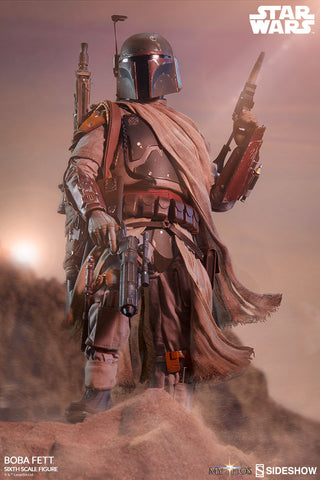 Sideshow Collectibles - Mythos - Star Wars - Boba Fett Sixth Scale Figure