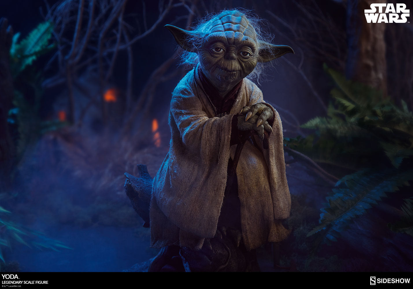 Sideshow Collectibles - Legendary Scale Figure - Star Wars - Yoda