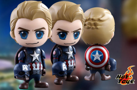 (IN STOCK) Hot Toys - COSB259 - Captain America: Civil War - Steve Rogers Cosbaby (S) Bobble-Head - Marvelous Toys