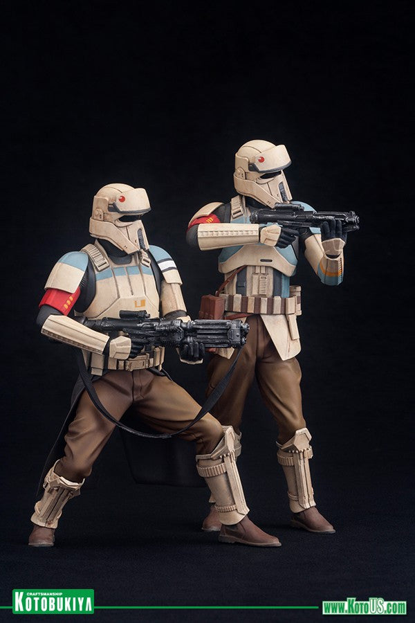 Kotobukiya - ARTFX+ - Rogue One: A Star Wars Story - Scarif Stormtrooper (Shoretrooper) Two Pack (1/10 scale) - Marvelous Toys - 1