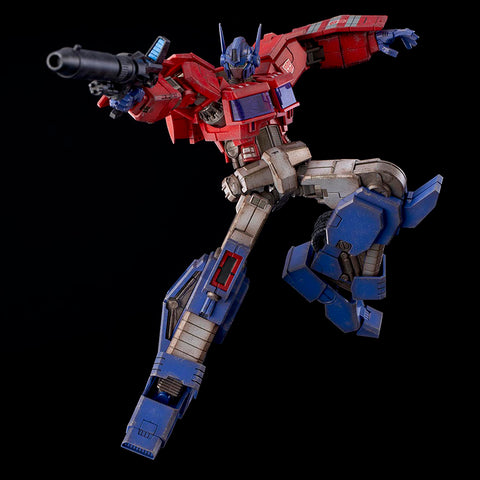 Flame Toys - Transformers - Furai Action 01 - Optimus Prime (IDW Ver.) (Reissue)